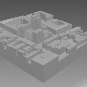 3D Printing, 3D Model Of City