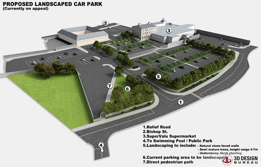 3D Plans Car Park