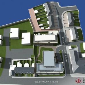 3D Plans, Mix Use Development