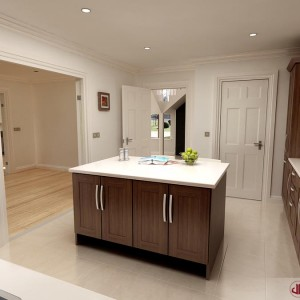 Architectural Animation, Modern Kitchen, Dublin