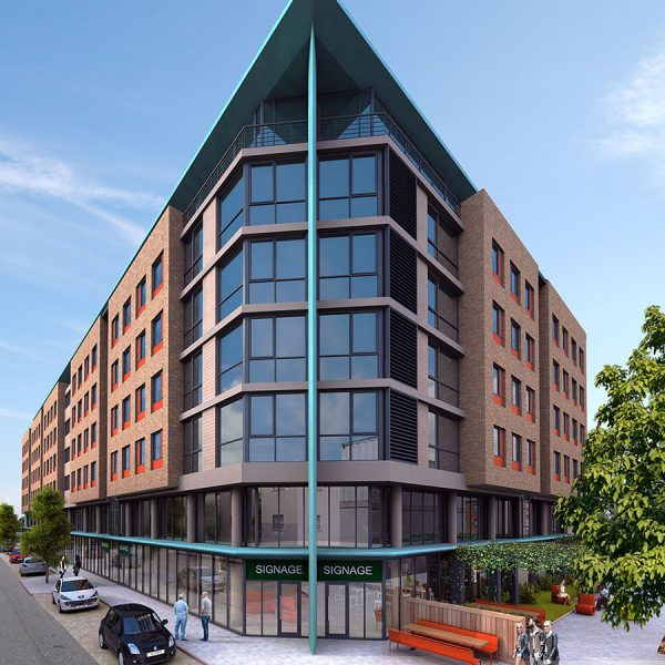3D Design Bureau, Architectural Rendering - Student Accommodation