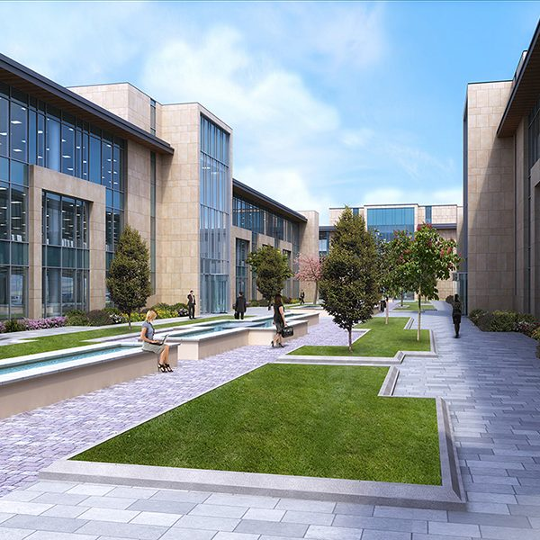 3D Design Bureau, Architectural Rendering, Commercial Development, Dublin