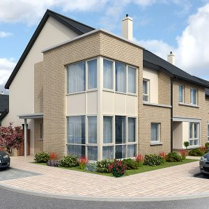 Architectural Rendering - Residential Developmant, Ireland