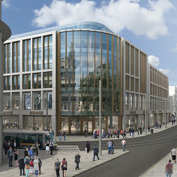 Architectural Rendering, Commercial Development, Dublin