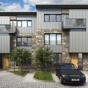 3D Design Bureau, Architectural Rendering, Residential Development