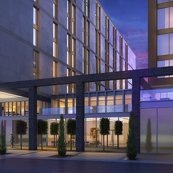 Architectural Rendering, Hotel Development