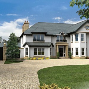 Architectural Rendering, Luxury Residence, Dublin