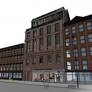 BIM 3D Visualisation, BIM Model, Irish Art Center, New York