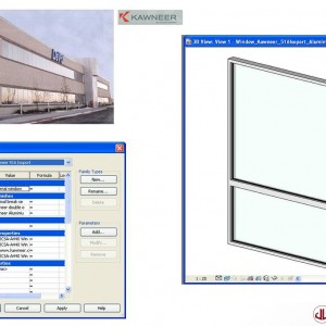 Building Components to BIM, Window