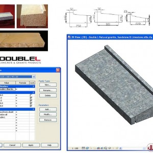 Building Components to BIM, Double Window Sill