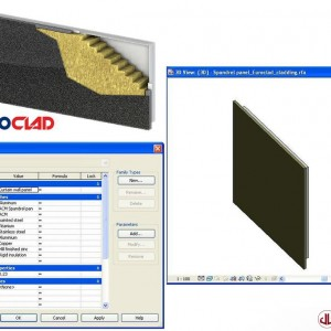 Building Components to BIM, Spandrek Panel