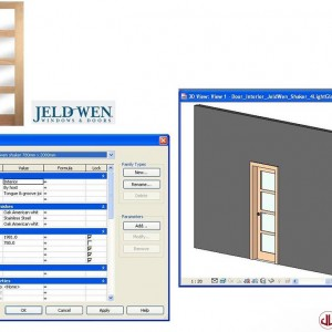 Building Components to BIM, Interior Door
