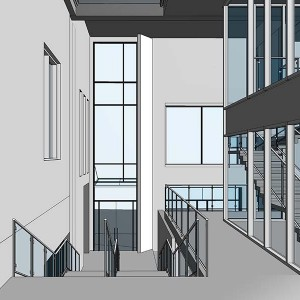 CAD to BIM, Commercial Development, Ireland