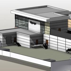 CAD to BIM, Retail Development, Ireland