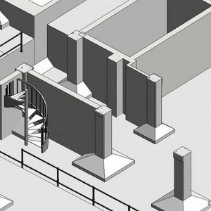 CAD to BIM, Office Development, UK