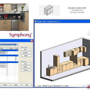 FF&E to BIM, Domestic Kitchen