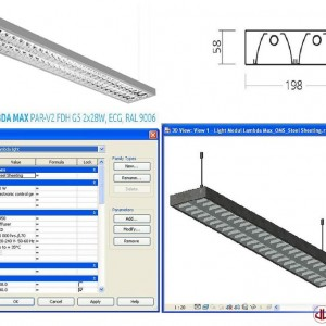 FF&E to BIM, Module Light