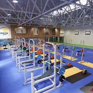 Interior Rendering, Leinster Gym, Dublin