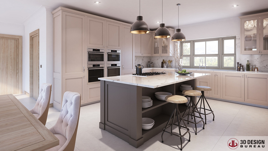 ... Residential 3D Design Bureau, Interior Rendering, ...