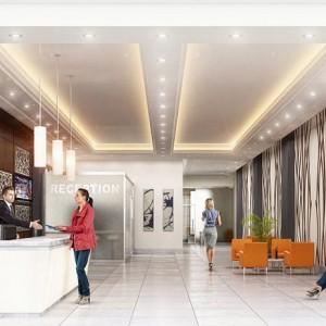 Interior Rendering, Reception, Canada