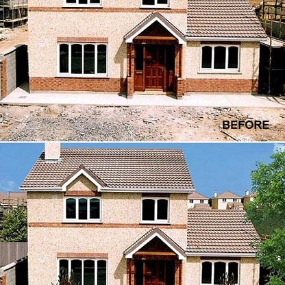 Photo Retouch, Private Residence