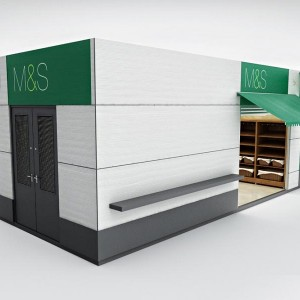 Product Rendering, M&S Mobile Unit