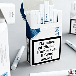 Product Rendering, Cigarette Packaging