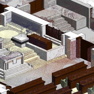 Scan to BIM, Cutaway BIM Model, Council Chamber, Abu Dhabi