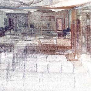 Scan to BIM, Point Cloud, Council Chamber, Abu Dhabi