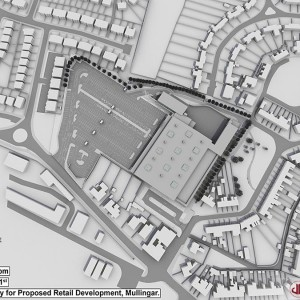 Shadow Study, Proposed Retail Development, Mullingar