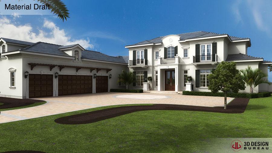 ... 3D Design Bureau, News, Architectural Renders Near Completion