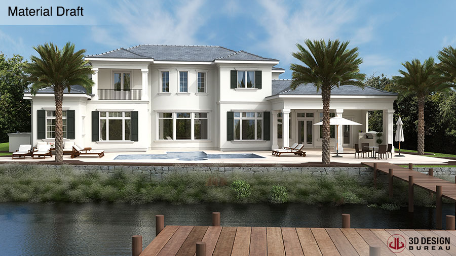 3D Design Bureau, News, Architectural Renders Near Completion ...