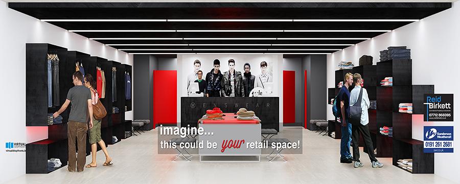 3d design bureau virtual shopfronts to transform for Retail store design software