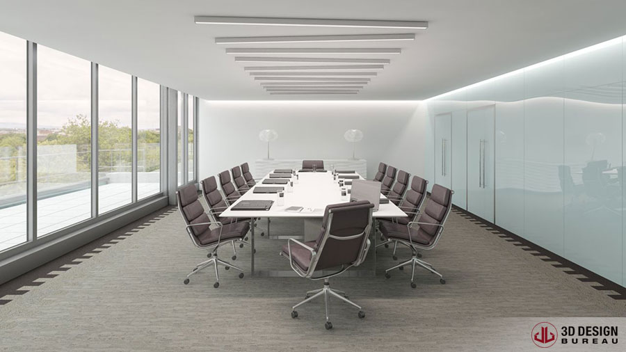 Charmant ... Interior Rendering   Commercial ...