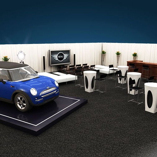 Product Rendering - Automobile