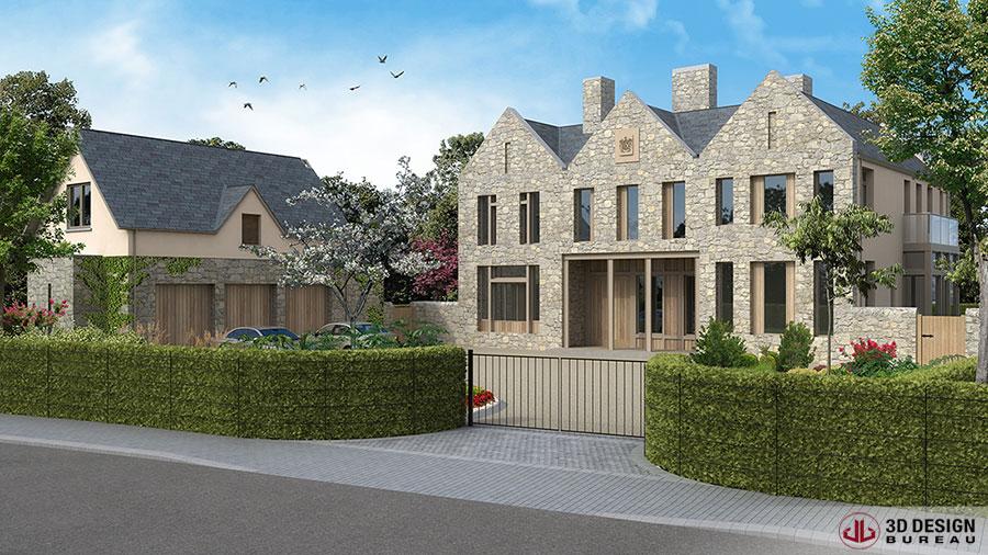 3D Design Bureau   Architectural renders help retain planning ...