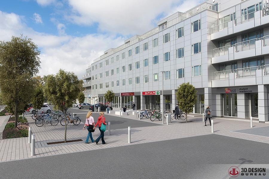 3d design bureau student accommodation to boom in dublin for Design hotel dublin