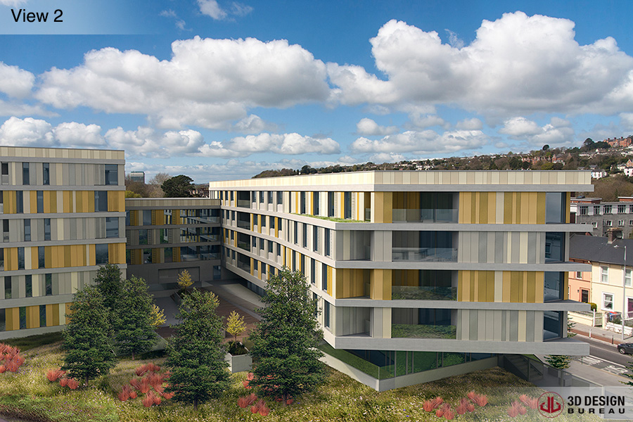 cork welcomes 205 bedroom student accommodation scheme photomontage 3d design bureau news
