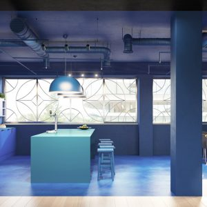 Interior Rendering - Commercial - Iconic Offices