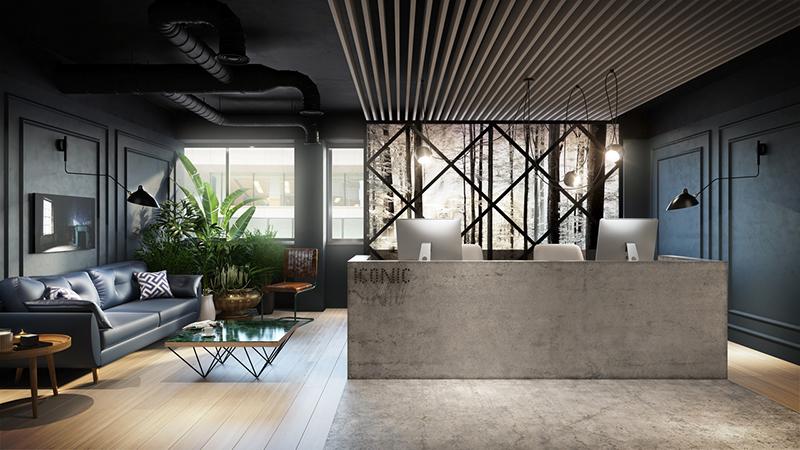 3d design bureau the brickhouse iconic offices launch