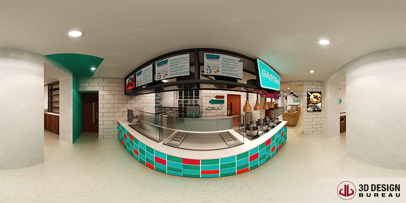 Virtual Reality - Restaurant - Trinity College Dublin