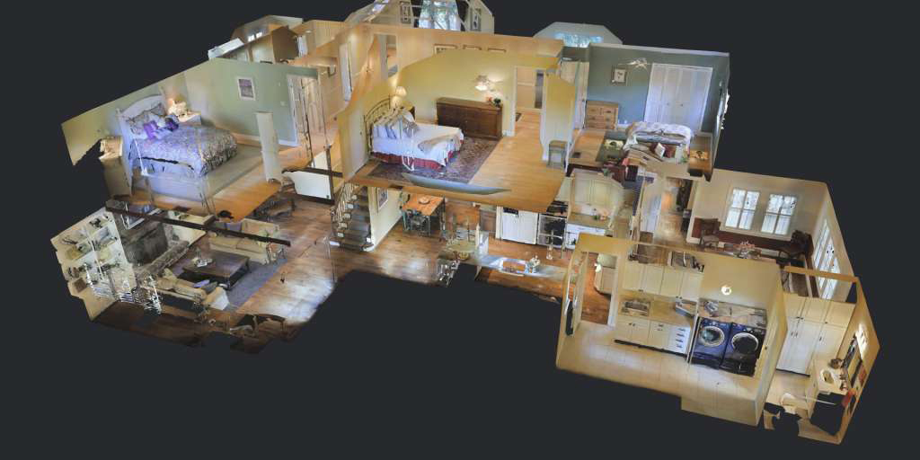 Matterport - 3D VR Screengrab - Residential