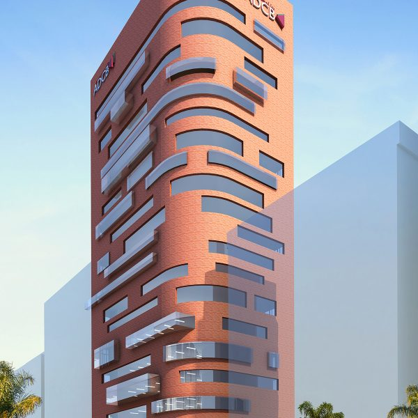 Architectural Rendering, Commercial Development