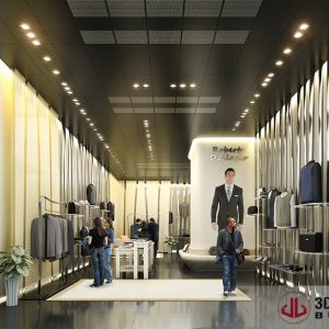 Interior Rendering, Retail