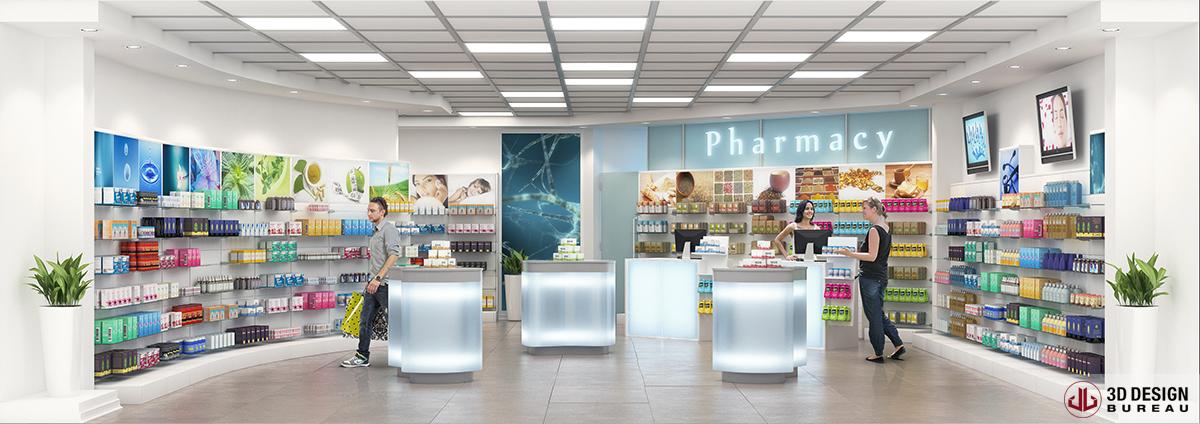 3d design bureau interior rendering retail Free retail store interior design software