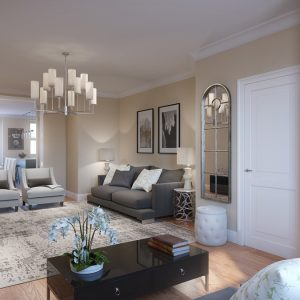 Interior Rendering, Residential