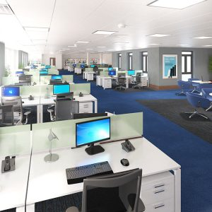 Interior Rendering, Commercial