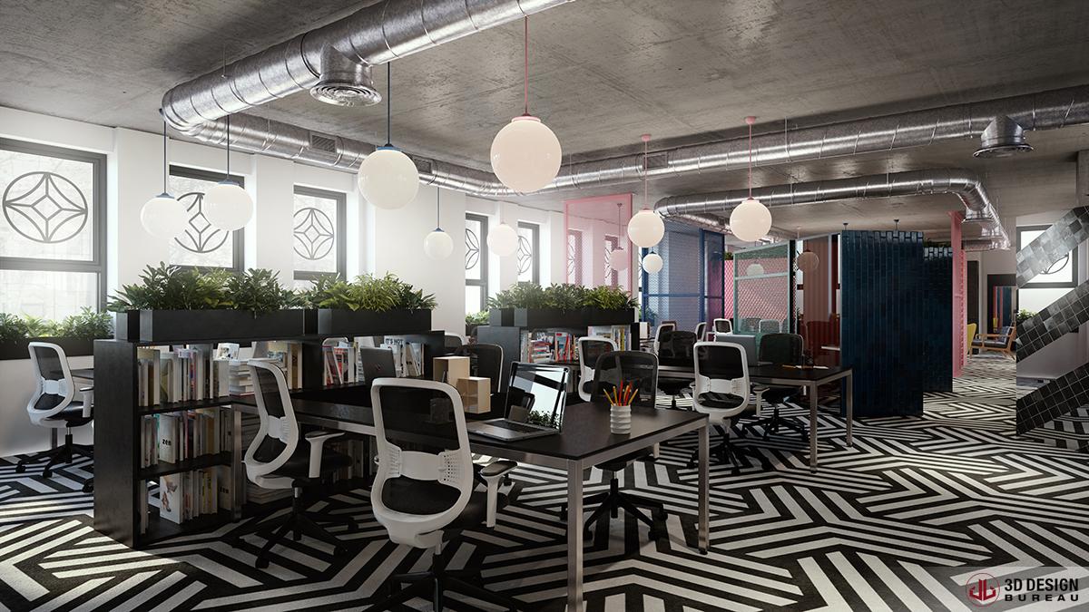 3d design bureau iconic offices landing on st stephen 39 s for Bureau dessin