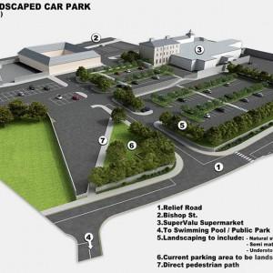 3D Plans, Car Park