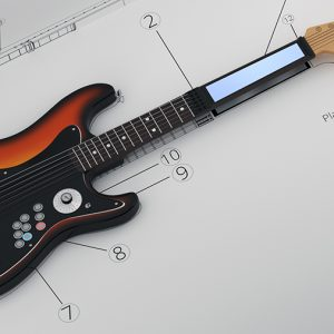 Product Animation - Elli Guitar